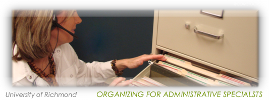 Be your own professional organizer… at work.