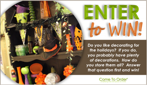 ENTER TO WIN, Contest with Come To Order