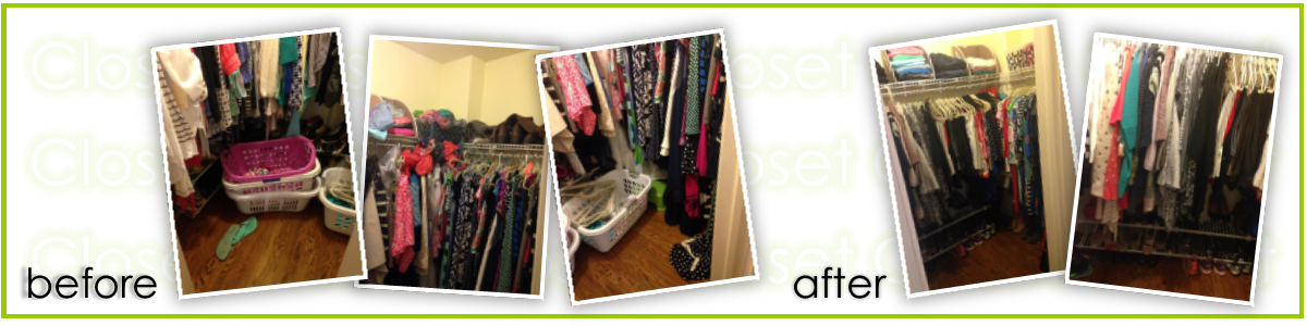 A New Space:  Closet and Laundry Systems