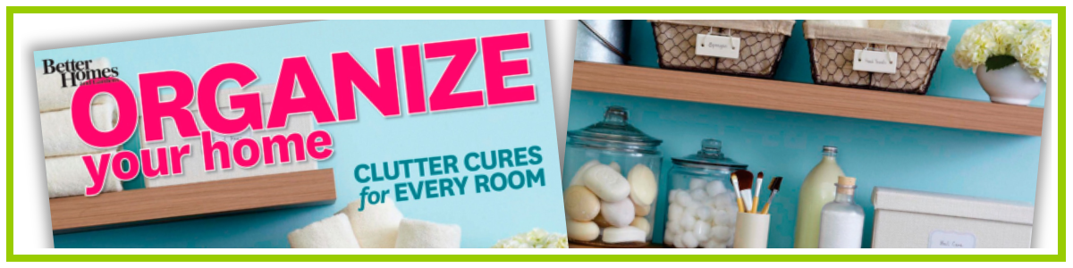 Clutter Cures for Every Room