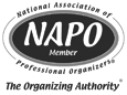 Kathy Jenkins is a National Association of Professional Organizers (NAPO)
