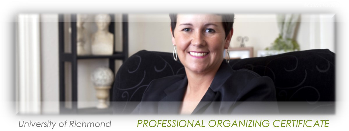 Earning your Professional Organizing Certification
