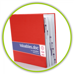Enter to win a Valueables.doc binder from Come To Order. Valuables.doc is the perfect organizational tool to organize your important home documents.