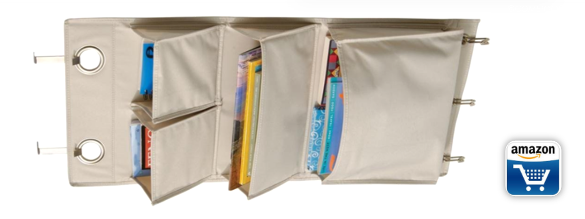Organize with Hanging Storage Pockets