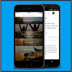 Get instant coaching with Coach.me, an app that helps you put your goals into action featured by Come To Order Professional Organizing.