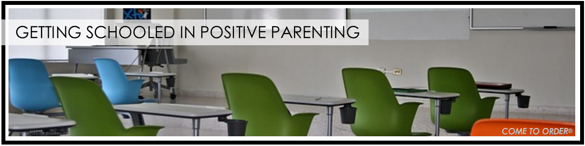Positive Parenting:  Even When There is Conflict in the Classroom