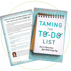 Practical, easy-to-apply advice to tame your to-do list and make the most of every day with your family from Proverbs 31 author Glynnis Whitwer. #entertowin