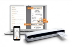 NeatReceipts PORTABLE SCANNER + SMART ORGANIZATION SOFTWARE Includes 1 Year of Neat Premium Service NeatReceipts is our best-selling portable scanner and Smart Organization Software. Scan receipts, business cards, and documents on the go while our powerful software identifies, extracts, and organizes key information.