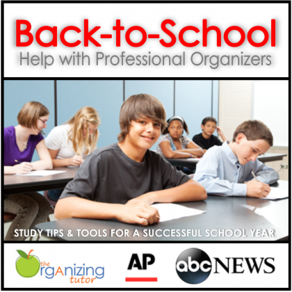 Back-To-School Help with Professional Organizers