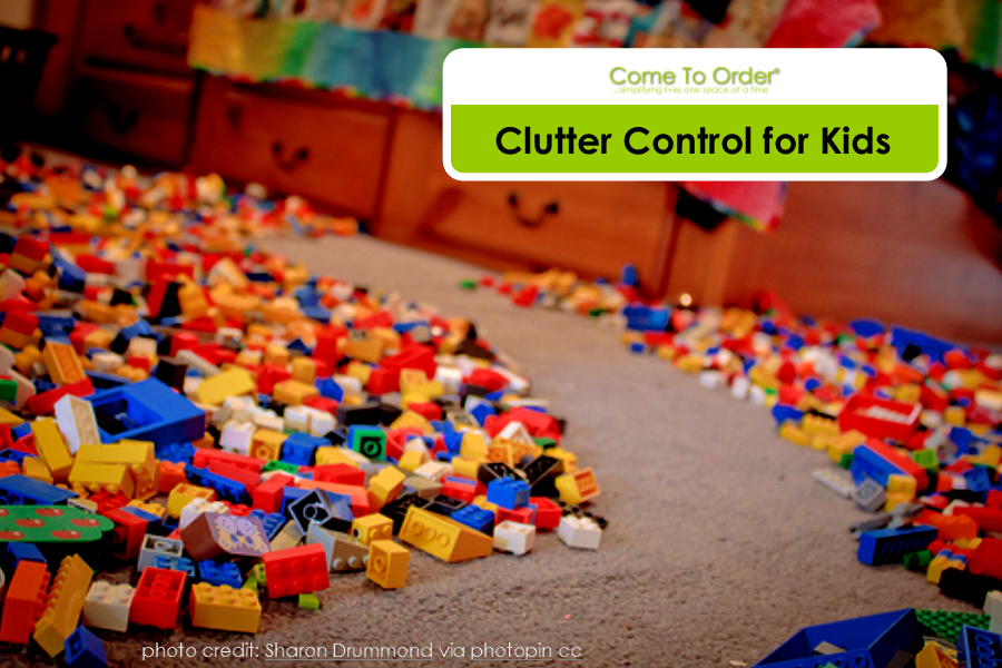 Clutter Control for Kids