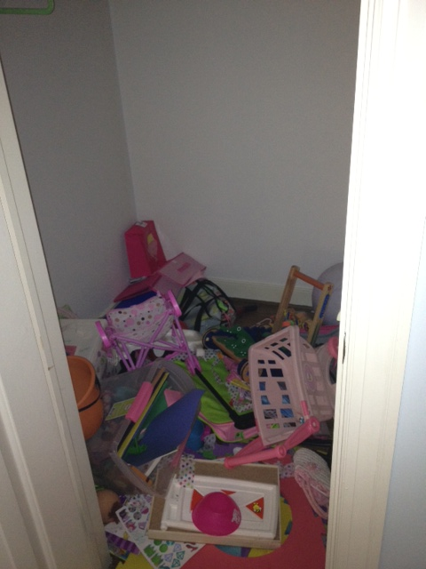 Without Shelves Or Cubbies, Itu0027s Easy For Toys And Other Stuff To End Up In  A Pile On The Closet Floor.