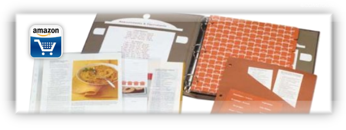 Create Your Own Collected Recipes Cookbook Recipe Organizer by Meadowsweet Kitchens