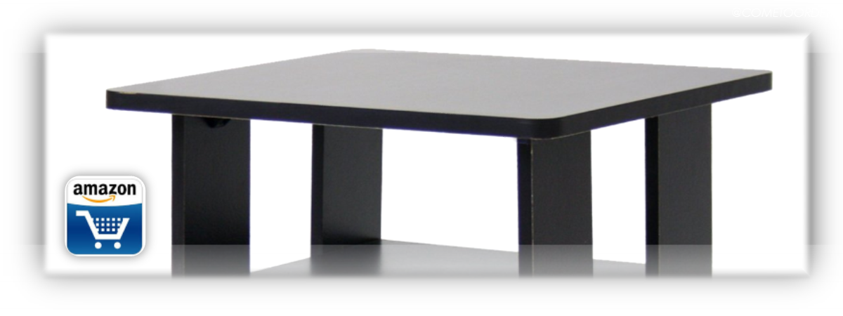 Keep it simple (and organized) with the Furinno bin table