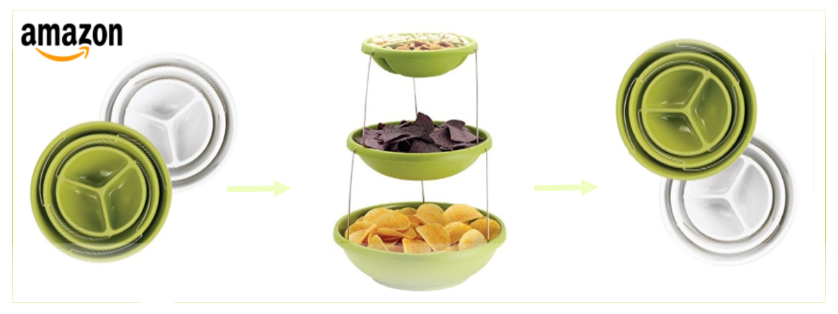 Serve It Up with the Infusion Fozzils Twistfold Bowls