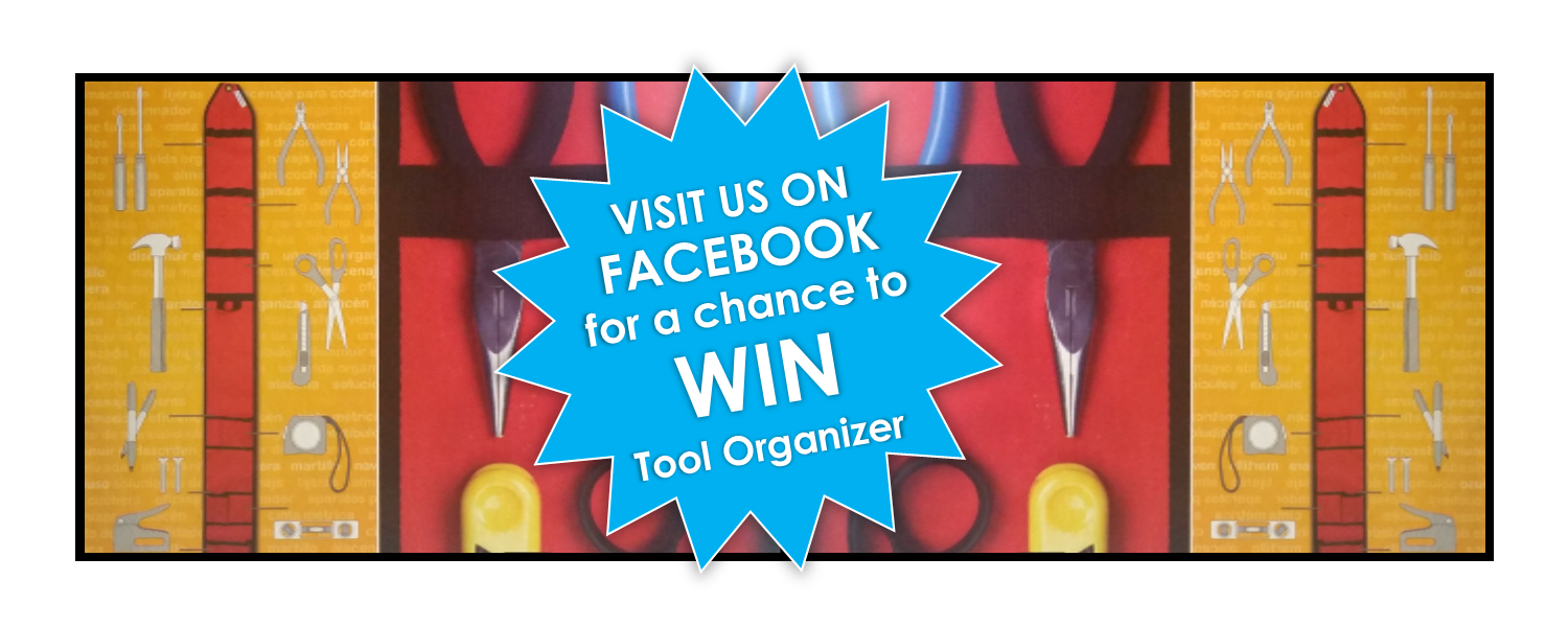 Don't be a tool… organize them!